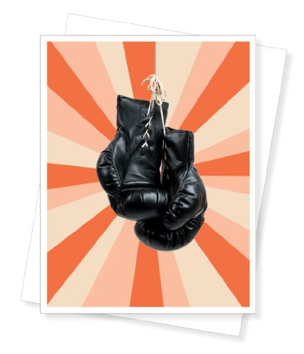 Birthday Knockout Boxing Gloves, Birthday Greeting Card