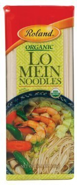 Roland Organic Lo Mein Noodles 12.8 Oz (30 Pack)