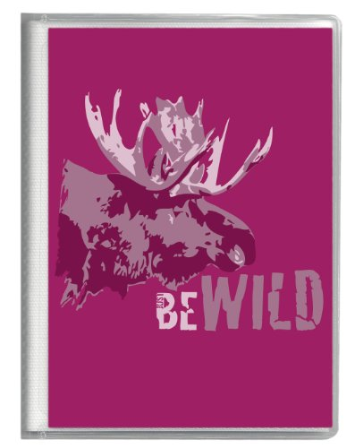 Just Be BB-12461-WLD-MS Just Be Wild (Moose) Brag Book Photo Album ()