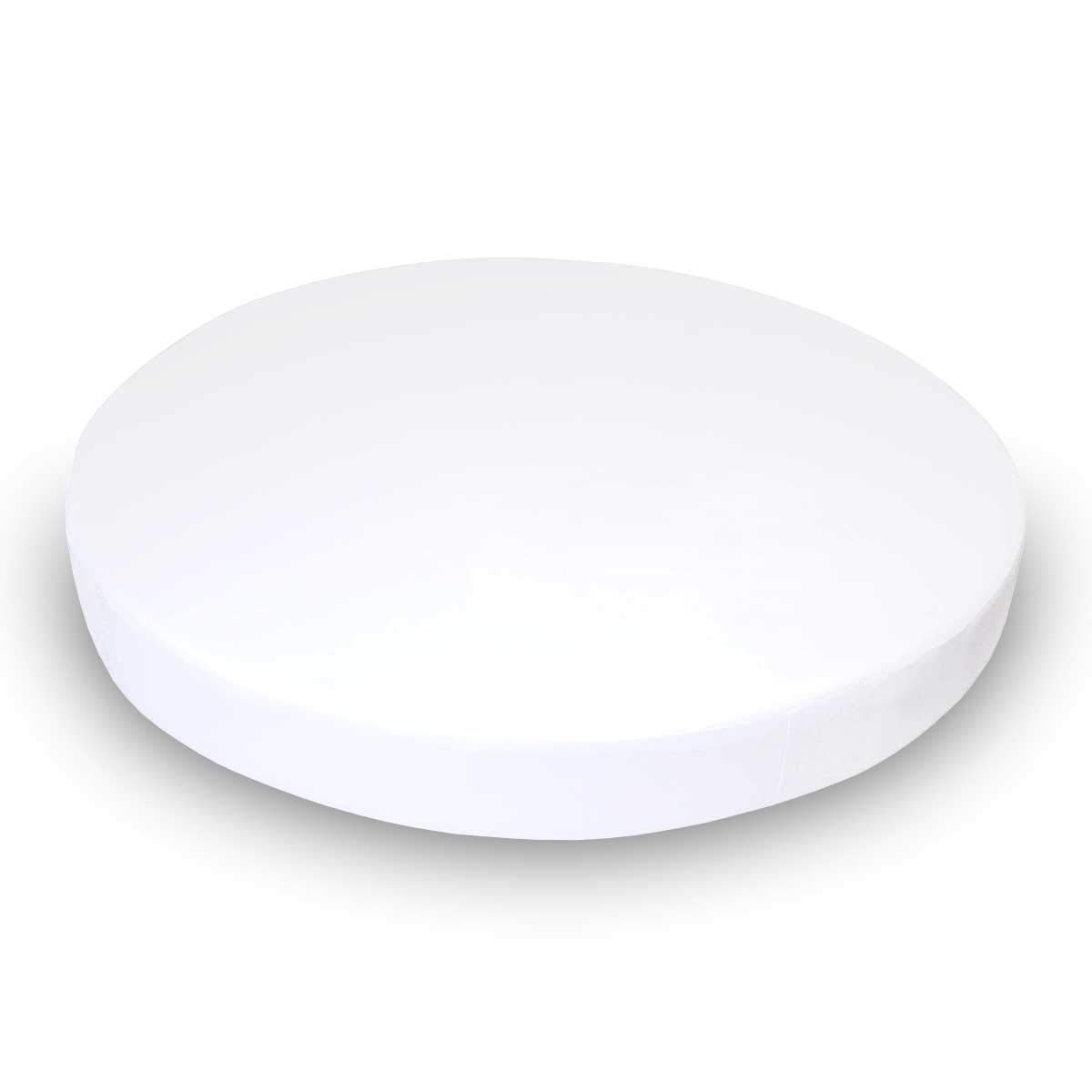 SheetWorld Fitted Oval (Stokke Mini) - Organic White Jersey Knit - Made In USA