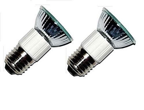 Pack of 2, LSE Lighting Z0B0011 50W JDR E27 75mm Range Hood Appliance Bulbs by LSE Lighting