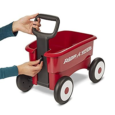 Radio Flyer My 1st 2-in-1 Wagon, 607: Toys & Games