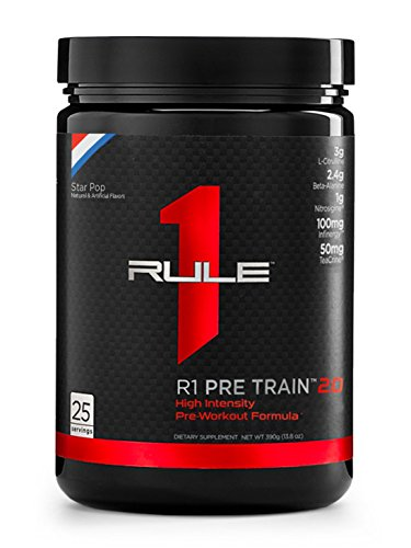 R1 Pre Train 2.0, Rule 1 Proteins (25 servings, Star Pop)