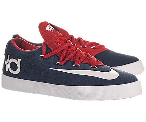 3c227cd17b85 Nike Kids Kd Vulc (GS) Obsian White University Red Casual Shoe 5.5 ...