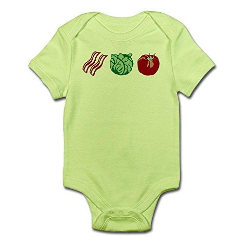 CafePress - BLT Sandwich Bacon Lettuce Tomato - Cute Infant Bodysuit Baby (Tomato Suit)