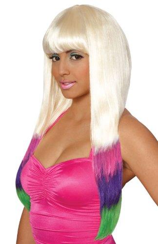 Carnival Wig (Multicolor;One Size) -