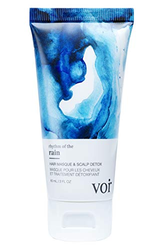 Voir Haircare Hair Masque – Scalp Detox Purifies and Restores Scalp Health Leaves Hair Soft Silky Magnificently…