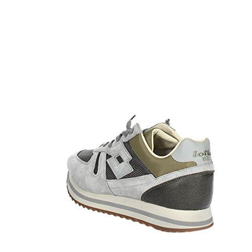 Sneakers Uomo Bassa Lotto 44 T4599 Leggenda Grigio qH1RS