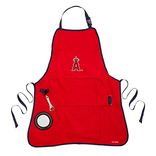 Team Sports America Los Angeles Angels Logo Grilling Utility Apron Angels Apron