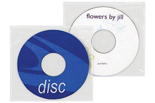 Tamper Resistant Adhesive CD | DVD Sleeve - Box of 1000