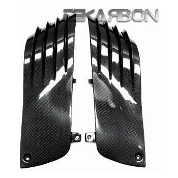 2006 - 2011 Kawasaki ZX14R Carbon Fiber Side Tank Panels