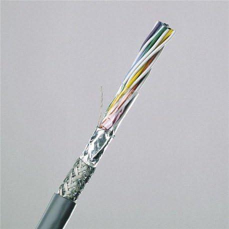 Alpha Wire 86401CY SL005 Foil /& Braid Shielded Continuous Flex Co