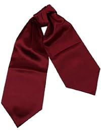 DRA7E01 Fabric Gift Idea Mens Multicolored Solid Ascot Dress Gift By Dan Smith