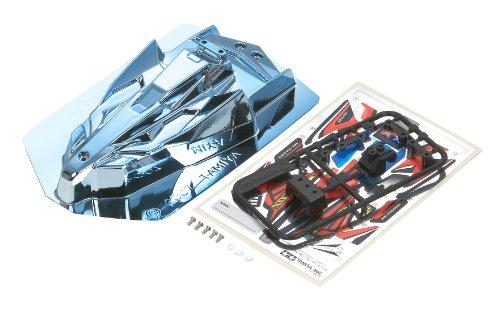 ミニ四駆限定シリーズ ネオファルコン ポリカボディ (ブルーメッキ)