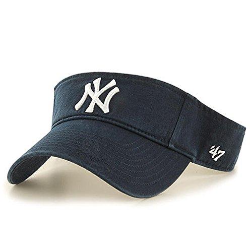 '47 MLB New York Yankees Clean Up Adjustable Visor, Navy, One Size