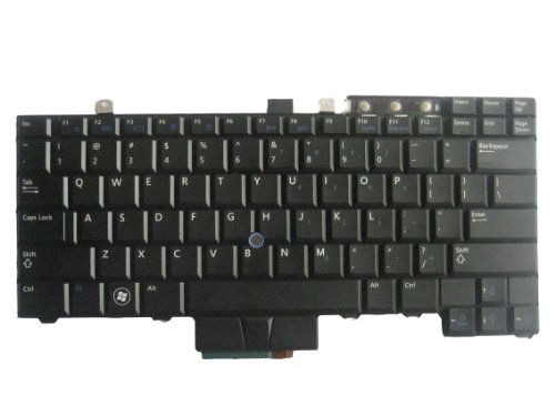 - LotFancy New Backlit Black keyboard for Dell Latitude E6410 E6510 E5410 E5510 Latitude E5400 E5500 E6400 E6500 Precision M240 M4400 M4500 Series; 0WX4JF WX4JF NSK-DB301 PK130AF2B00 9Z.N0G82.301 NSK-DB301 HT514 0HT514 Laptop / Notebook US Layout (Note: it just work for the laptop with backlit keyboard, please check your part numbers of the keyboard before ordering it)