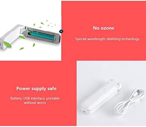 luz germicida UV autom/ática plegable de energ/ía USB port/átil Youool L/ámpara UV para viajes de hogar a hoteles