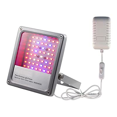 ACKE LED Grow Light Full Spectrum for Hydroponics Grow Lights of Plants Veg Herbs (SMD with Swithch)