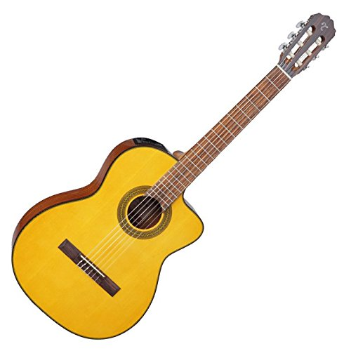 Takamine GC1CELH-NAT Left Handed G-Series Classical Acoustic Electric Guitar in Natural Finish