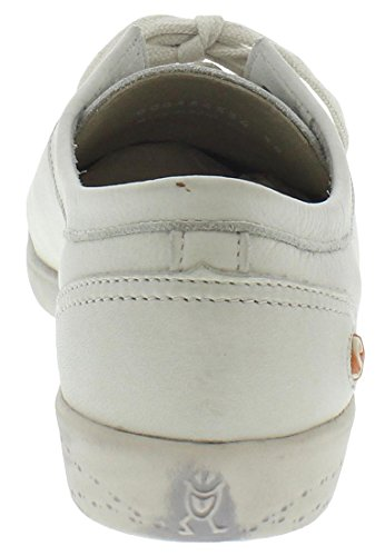 Blanc 534 Femme Baskets White Isla Softinos Gris Smooth nxqwUCXTpR