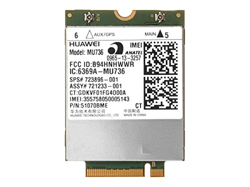 HP Hs3110 Hspa+ W10 Wwan Wireless Cellular Modem - M.2 Card Components Other T0E35UT#ABA by HP
