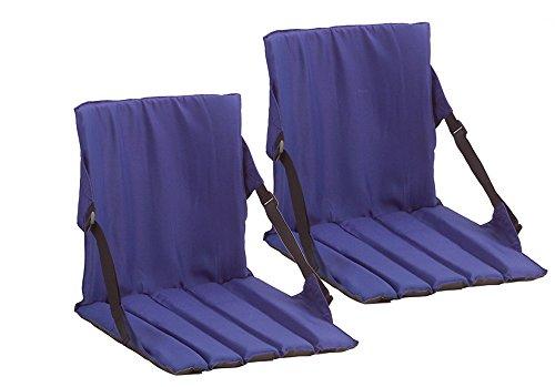 2 Pack Coleman Stadium Seat,Blue