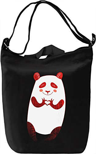 Lovely Panda Borsa Giornaliera Canvas Canvas Day Bag| 100% Premium Cotton Canvas| DTG Printing|
