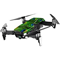 MightySkins Skin for DJI Mavic Air Drone - Peacock Feathers | Min Coverage Protective, Durable, and Unique Vinyl Decal wrap cover | Easy To Apply, Remove, and Change Styles | Made in the USA