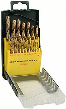Bosch 2607017152 - Juego de brocas (tamaño: 19-Piece, pack de 19)