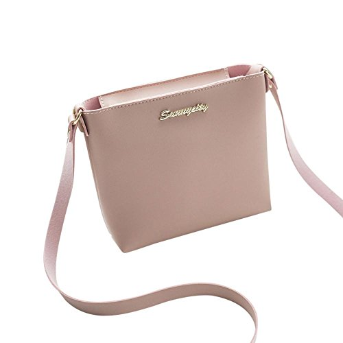 PU Medium Lightweight Small for Bag Clearance Crossbody Sunday77 Sale Modern Classic Handbag Bag 2018 Shoulder Ladies Women's Tote Leather Ladies Shoulder Pink Purse Newest Bag HCFCwq7
