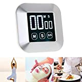Timers - Timer 0 99 Minutes Touch Screen Lcd Backlight Digital Alarm Clock Cooking - Ourglass Alarm Water Duty Sand F/p Count Mos Electrical Kitchen