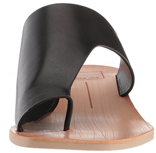 Dolce Vita Mujeres Hazle Slide Sandal Cuero Negro