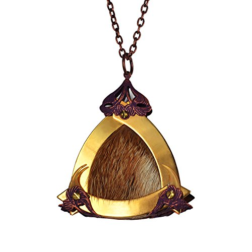 KITSUNE BI Large Gold Triangle Vixen Queen Pendant