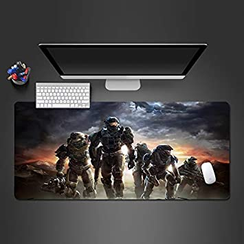 QWE Alfombrilla de ratón Soldier Mouse Pad Gamer Gaming Mousepad ...