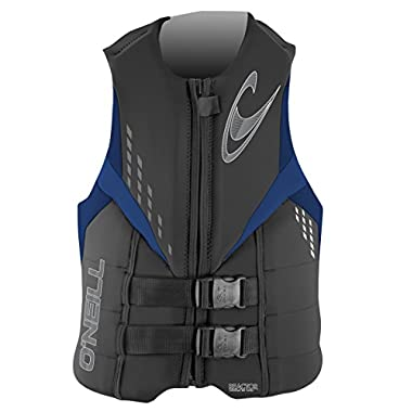 O'Neill Men's Reactor 3 USCG Vest, Graph/Navy/Pacific - Adult LG