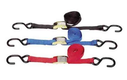WPS 1'' Tie-Downs BLUE 10/PK 21263BULK by WPS Western Power Sports (Image #1)