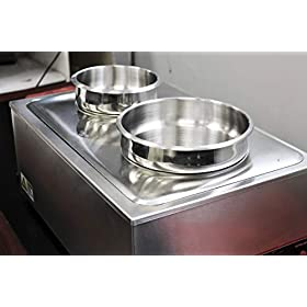 Tiger Chef Round Inset for Food Warmer