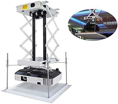 Soporte para proyector de 70 CM, elevador eléctrico motorizado ...