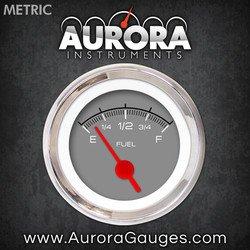 Competition Gray Fuel Level Gauge 6671 Aurora Instruments GAR229ZMXKABAE