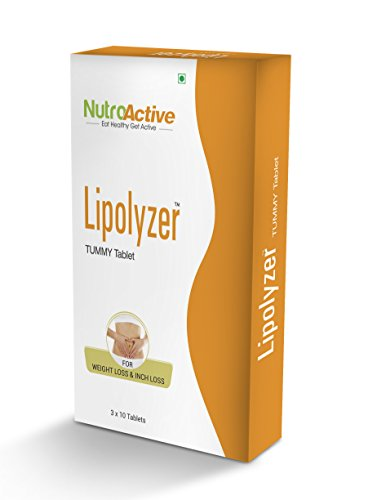 NutroActive Lipolyzer Tummy Tablets (30) for weight management