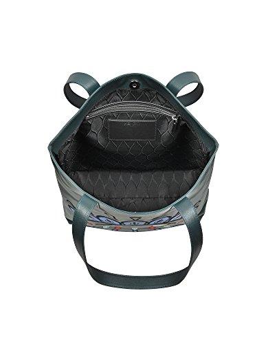 Kenzo Borsa Shopping Donna F462SA001L0656 Pelle Verde