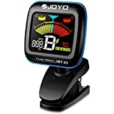 Hantwin Chromatic Guitar Tuner 360 degree Rotational Electronic Digital Tuner Easy to Use Highly Accurate Clip-on Tuner - Suitable for Acoustic and Electric Guitar Bass Violin Ukulele (JMT-03)