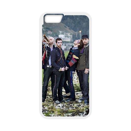 Coldplay coque iPhone 6 Plus 5.5 Inch Housse Blanc téléphone portable couverture de cas coque EBDXJKNBO17163