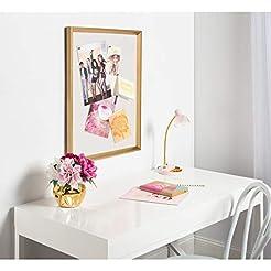 DesignOvation Calter Framed Linen Fabric...