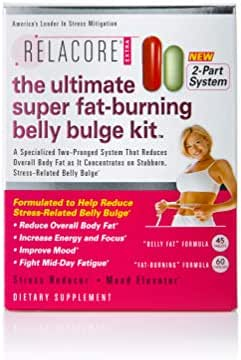 RELACORE Ultimate Super Fat-Burning Belly Bulge Kit, 105 Count