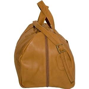 NBA Atlanta Hawks Tan Leather Corey Duffel Bag