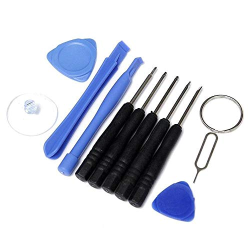 Gnker Cell Phone Repair Tool Kit 11 in 1 for iPhone Samsung Accessory Bundles 11PCS/Set