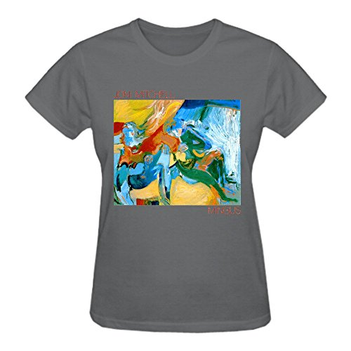 Abover Joni Mitchell Mingus Graphic T Shirts For Women O-Neck (Joni Mitchell T-shirts)