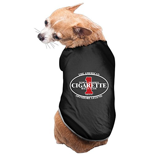 Lovely Pet Supplies Cigarette Racing Team Logo Dog Jackets (Dog Smoking Jacket Costume)