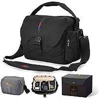 Waterproof Camera Bag Large DSLR Camera Shoulder Bag with...
